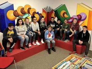 Besuch Bücherei 1 November 2019