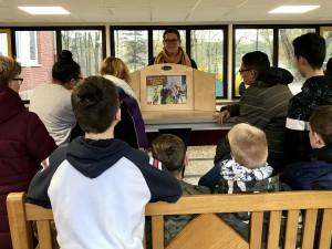 Besuch Bücherei 5 November 2019